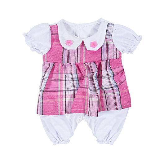 Vordas Ropa de Muñecas para New Born Baby Doll, Ropa de Muñecas para Bebés (40-45 cm) (Linda)