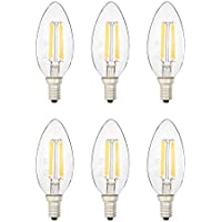 6-Pack Amazon Basics 40 Watt Equivalent B11 LED Light Bulb