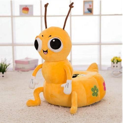 DishyKooker Pop-Anime-Ameisen-Sofa, Weißh, gefüllt, Plüschtiere, Spielzeug für Kinder, 50 x 40 cm Ant Gelb 50cm X 40cm