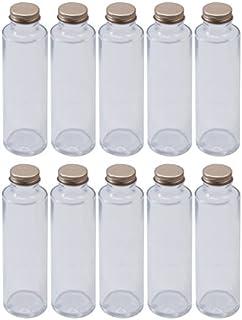 日本製 ハーバリウム 円柱ガラス瓶 150cc 10本セット