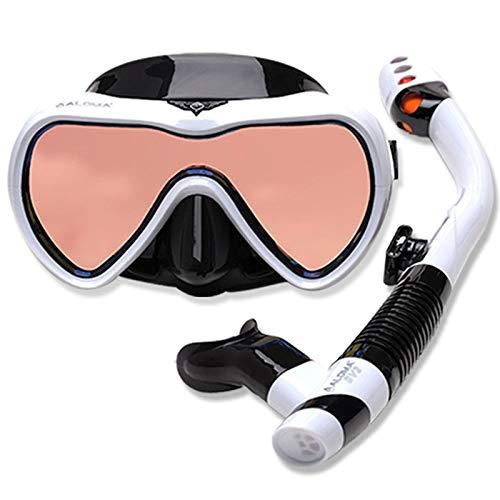 Máscara De Buceo Gafas De Snorkel Goggles - Máscara De Snorkel Antivaho Para Snorkel, Natación, Equipo Para Mujeres Y Hombres, Gafas, Kits De Cara Completa De Buceo Y La Mejor Tecnología Antivaho