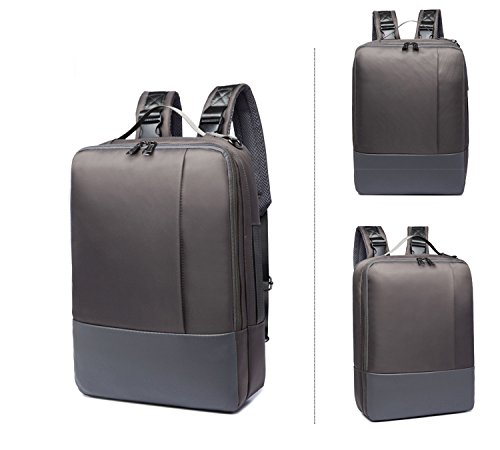 Laptoptassen veel opbergruimte schoolrugzak 10-19 liter inhoud zakelijke rugzak aktetassen gewatteerd laptopvak