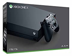 6 teraflops of graphical processing power and a 4K Blu-ray player provides more immersive gaming and entertainment Play with the greatest community of gamers on the most advanced multiplayer network Works with all your Xbox One games and accessories ...