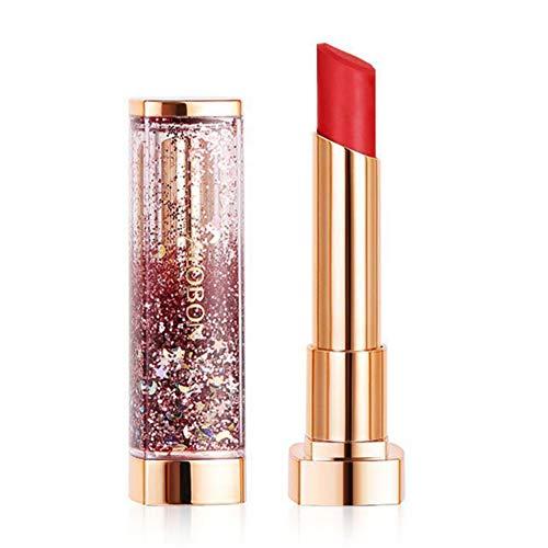 Lipgloss Nourishing Moisturizing Waterproof Silky Texture Vollfarbige Reparatur Lippen-Lippenstift...