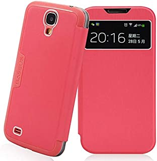 اغطية رفيعة جدا من باسيوس لهواتف غالاكسي I9500 اس 4 - وردي