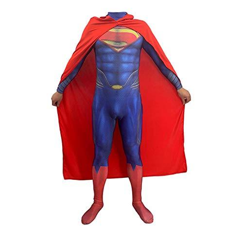 YXIAOL Traje De Superhéroe Superman Iron Man, Traje De Cosplay De La Liga De Justicia, Disfraz De Fiesta De Halloween, Disfraz De Mascarada, Adulto/niño