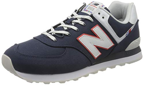 New Balance Jungen ML574SOP Trailrunning-Schuh, Navy, 32 EU