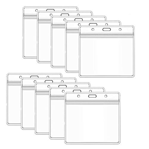 10pcs Vaccination Card Protector 4 X 3 Inch Waterproof Card Holder Vaccination Record Card Storage Rack Home Storage Accessories-10PCS_no_card