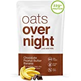 ZERO MORNING PREP - Mix one packet of Oats Overnight with your choice of milk substitute (or traditional milk) the night before and place in the fridge so you can grab and go in the morning. Ditch the spoon and enjoy this premium oatmeal directly fro...