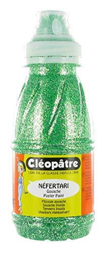 Cléopâtre - PP250-16 - Peinture Pailletée - Vert Printemps - Flacon 250 ml