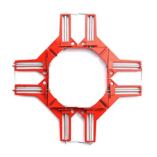 4 STKS 90° Rechthoek Klem, Fotolijst Houder, Glazen Houder, DIY Houtbewerkingshouder, 100mm Hoek Klem Gereedschap voor timmerman, Welding, Engineering, Beste Gift