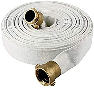 AKW Fire Hose, White, 1-1/2