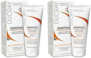 Ducray Anaphase Cream Shampoo with Hair Care Guide by Kapro, 100ml (Pack of 2)