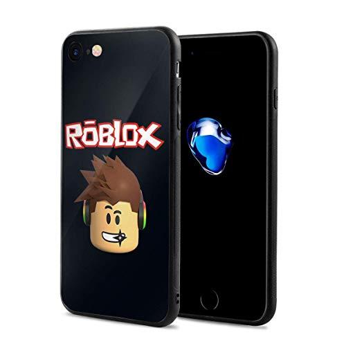 Carcasa para iPhone 7, Carcasa para iPhone 8, Marco Protector y Carcasa Trasera para PC para iPhone 7/8 4.7'(Roblox)
