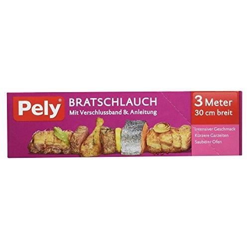 Pely Bratschlauch mit Verschlussband, 3 Meter 30 cm breit, 1 Stück