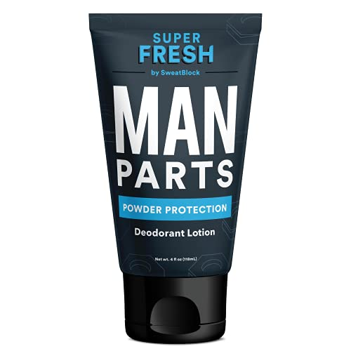 Super Fresh Ball Deodorant for Men by SweatBlock | Prevent Sweaty Man Parts