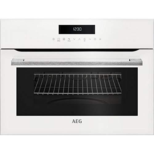 AEG KMK721000W Integrado - Microondas (Integrado, Microondas combinado, 46 L, 1000 W, Tocar, Blanco)