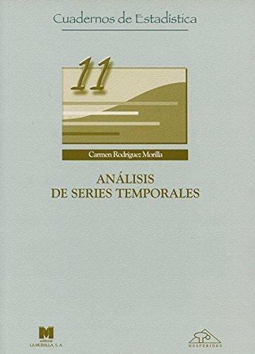 Análisis de series temporales (Cuadernos de estadística)