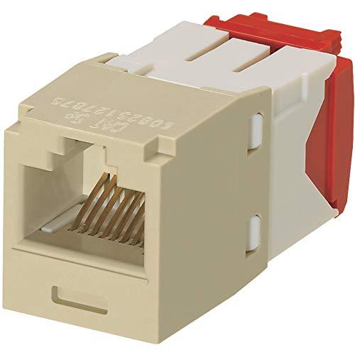 Panduit CJ5E88TGEI Category-5E 8-Wire TG-Style Jack Module, Electric Ivory