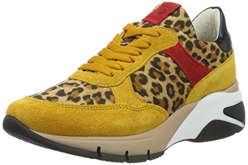 Tamaris Damen 1-1-23781-32 Sneaker, Gelb (Mustard Comb 685), 38 EU