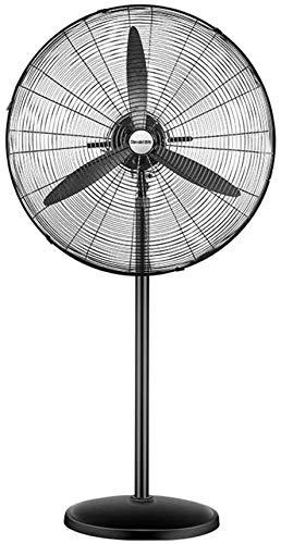Haojie Ventilador eléctrico Industrial, Ventilador de Piso Fuerte, Ventilador de Alta Potencia, Taller Comercial, fábrica, Viento Grande,90w