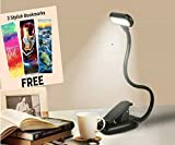 SHOPOPOYE Book Reading Light Rechargeable With Clip & Usb Cable Study Desk Lamp