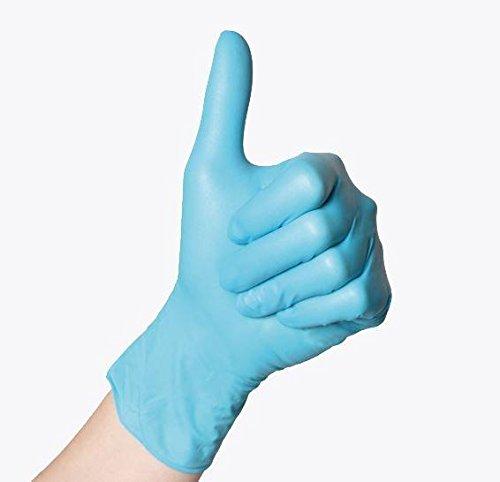 Sempermed G826793843 Handschuhe, Nitril, unsteril, puderfrei, Größe S, 100 Stück