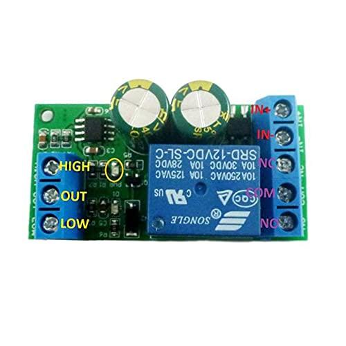 ETSK LC25A01 1-Kanal Relaismodul 2 in 1 RS232 TTL232 Relais UART Serielle Ports Fernbedienung Schalter Relais DC 12 V Modul für Auto Motor