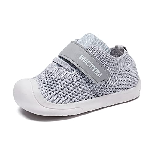 BMCiTYBM Baby Boy Girl Shoes Breathable Mesh Walking Shoes Lightweight Non-Slip Sneakers Infant First Walkers 6 9 12 18 24 Month