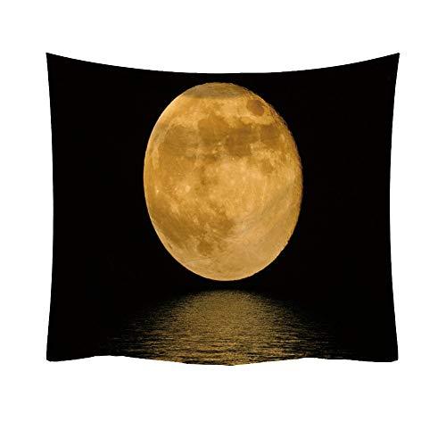 Rosennie Tapisserie Wandteppich Sterne Wandbehang Mode Planet Dekorative Tapisserie Wohnkultur Wand Tagesdecke Mond Sonne Stern Astrologie Tapestry für Schlafzimmer Wohnzimmer Wandkunst