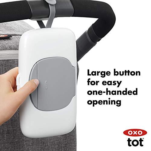 OXO Tot On-The-Go Wipes Dispenser, Gray