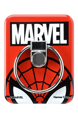 MARVEL スマホリング BUNKER RING バンカーリング [スパイダーマン/レッド]