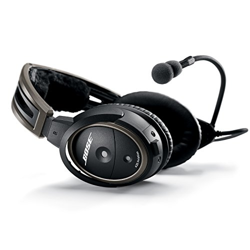 Bose ® 324843-2020 A20 Aviation Headset mit PJ-Zwillingsstecker schwarz