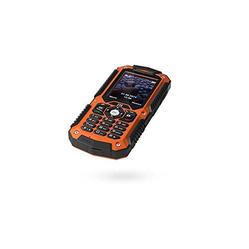 ZTE 4312001801WL R28 Handy (5,59 cm (2,2 Zoll) Display, Mini-SIM, Bluetooth 3.0, MP3-Player) orange