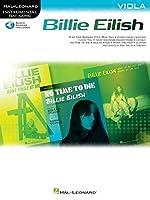 Billie Eilish Instrumental Play-along Book, Includes Downloadable Audio for Viola: Viola Instrumental Play-along Pack