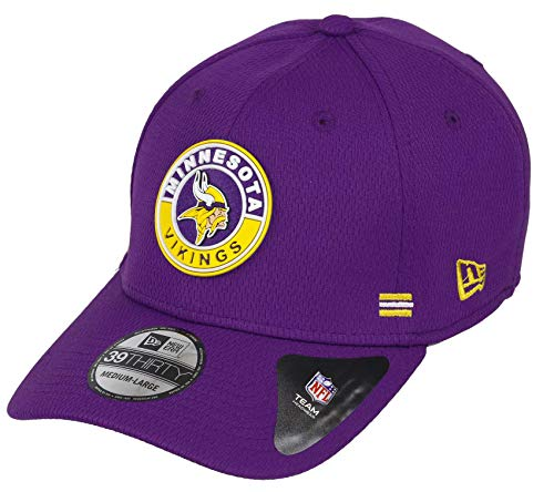 New Era Minnesota Vikings 39thirty Stretch Cap NFL 2020 Sideline Road Alternative Purple - L-XL