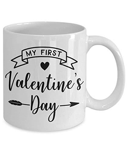 N\A Taza de mi Primer día de San Valentín Primer día de San Valentín Feliz día de San Valentín Taza de San Valentín Mi Primer día de San Valentín Primer día de San Valentín