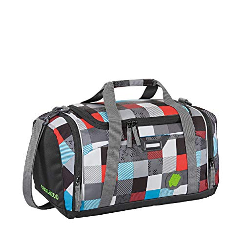 Coocazoo City and School SporterPorter Sporttasche 42 cm Checkmate Blue red