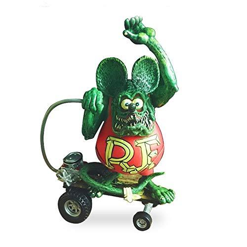 Dhl Fink Ratte-Puppe-Spielzeug-Dekoration-Geschenk Bewegliche Puppe (Color : Red, Size : 12CM)