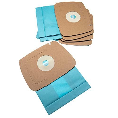 vhbw 5 Staubsaugerbeutel kompatibel mit Electrolux Lux 1, 1 Classic, 1 Royal, D820 Staubsauger, Papier 21cm x 16.2cm