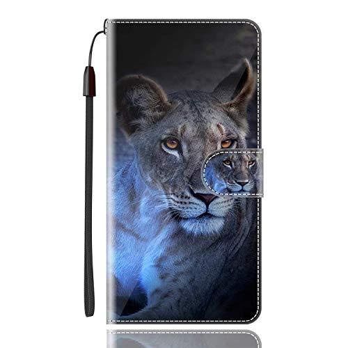 Sinyunron Klapptasche für Handy DOOGEE X6 Pro Hülle Leder Handytasche Handyhülle Brieftasche Hüllen Hülle mit Kartenfach & Ständer/Hülle01A