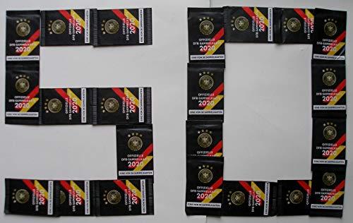 Rewe 50x EM 2020 DFB - Sammelkarten - 50 Päckchen - Tüten - Karten - OVP + 1 Fußballmünze der WM 2006 - Bastian Schweinsteiger