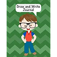 Draw and Write Journal: Composition NoteBook for Kids - Paper With Primary Lines and Half Blank Space for Drawing Pictures - 140 Pages - Boy Design #6