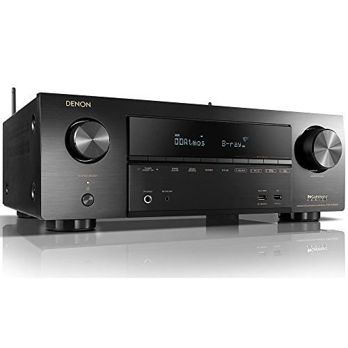 Denon AVR-X1500H Receiver - HDR10, 3D videos | 7.2 Channel (80W per channel) 4K Ultra HD Video | Dolby Surround Sound | (Discontinued by Manufacturer)
