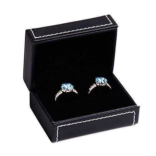 JOMOSIN SNH0216 - Organizador de almacenamiento para colgar joyas, caja de joyería de gama alta, caja de joyería para coche, caja para anillos