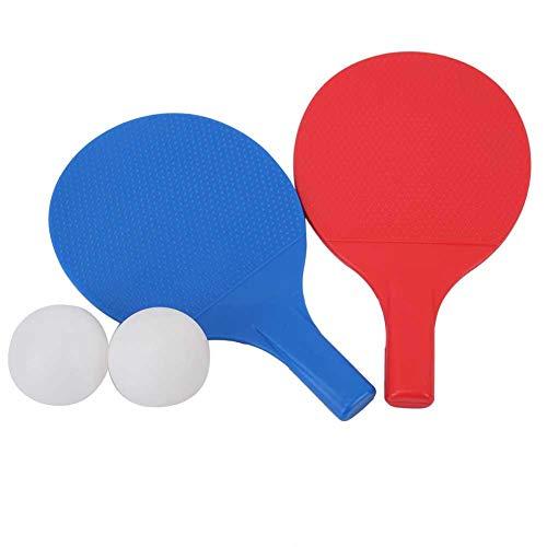Set da Ping Pong per Bambini Mini Racchetta da Ping Pong in Plastica con 2 Palline Portatili per Bambini Allenamento da Ping Pong