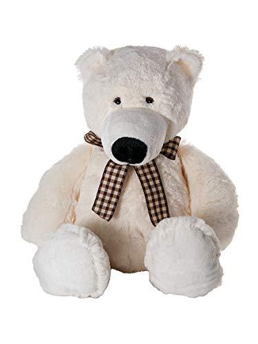 Mousehouse Gifts Oso Polar de Peluche Stuffed Animal Polar Bear Plush Toy de 42 cm para el bebé o los niños
