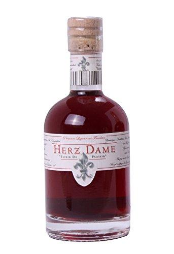 Herzdame Elixir de Plaisir 0,1l - Premium Liqueur aus Früchten