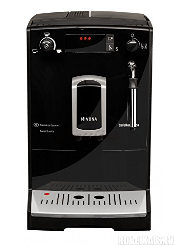 Nivona 626 CafeRomatica Super Automatic Espresso Machine, Black