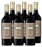 Baron De Lestac Les Hauts de Lestac - AOP Haut Médoc - Vin Rouge - Millésime 2018 - Lot de 6 bouteilles x 75 cl